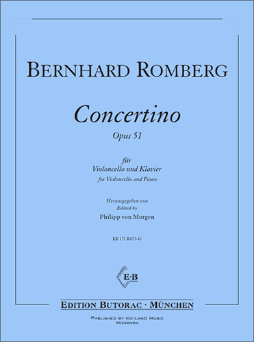 Cover - Romberg, Concertino op. 51