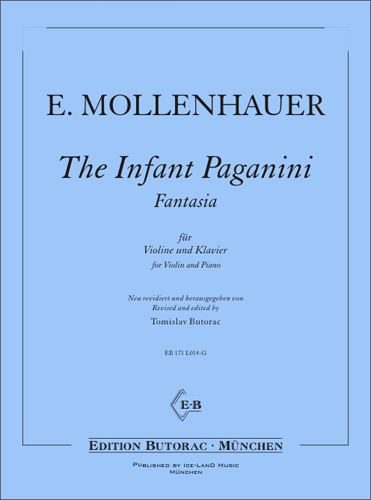 Cover - The Infant Paganini - Fantasia