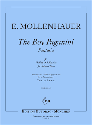 Cover - The Boy Paganini - Fantasia
